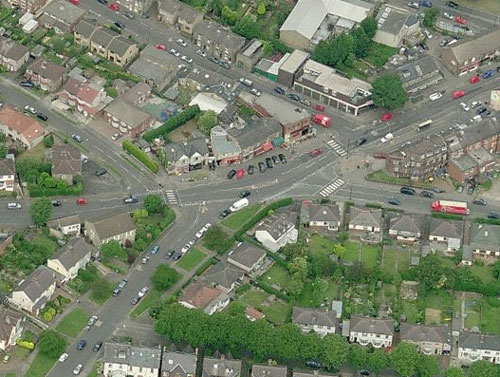 Crosspool shops before the alterations