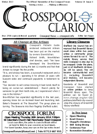 Crosspool Clarion Autumn 2013, volume 12, issue 4