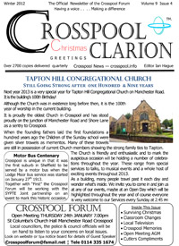 Crosspool Clarion Winter 2012, Volume 9, Issue 4