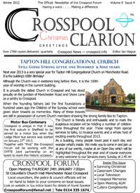 Crosspool Clarion Winter 2012, Volume 9, Issue 4