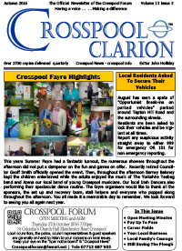 Crosspool Clarion Volume 13 Issue 3 Autumn 2016 PDF (4.2MB)
