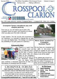 Crosspool Clarion, Summer 2014, volume 11, issue 2 (PDF, 3.1MB)