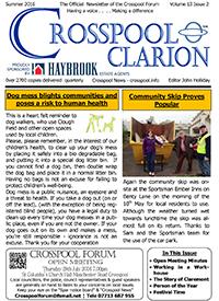 Crosspool Clarion, Summer 2016, Volume 13, Issue 2