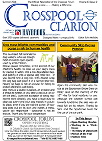 Crosspool Clarion, Summer 2016, Volume 13, Issue 2