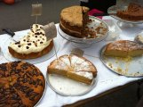 Cakes at Crosspool Farmer's Market