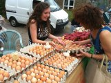 Eggs from Philip James Butchers at Crosspool Farmer's Market