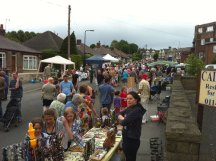 Crosspool Farmer's Market on Selbourne Road