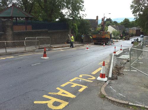 Improvements for pedestrians on Lydgate Lane