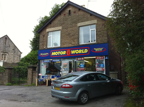 Motor World, Lydgate Lane, Crosspool