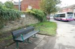 Sandygate Road/Manchester Road bench