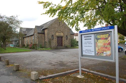Stephen Hill Methodist Church, Crosspool