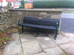Stephen Hill/Manchester Road bench