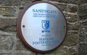 Sandygate, the oldest football ground in the world