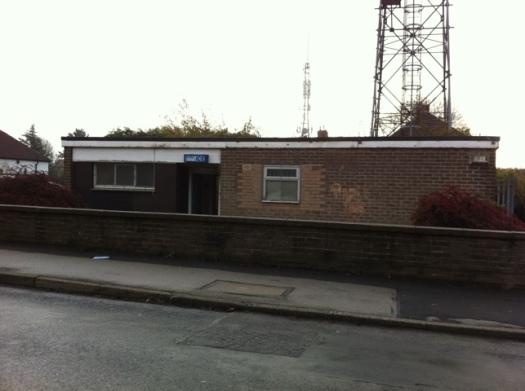 Lydgate Lane police box
