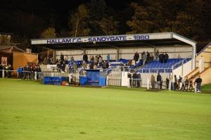 Sandygate, home of Hallam FC