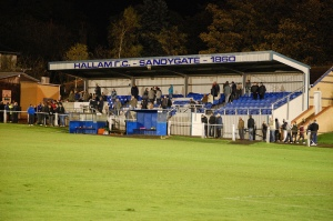 Sandygate, home of Hallam FC