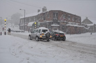 Traffic, Crosspool, 1 December 2010