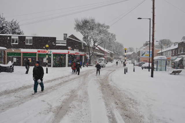 The precinct, Crosspool, 1 December 2010