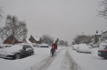 Watt Lane, Crosspool, 1 December 2010