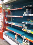 4pm: milk supplies have run out, Crosspool, 1 December 2010