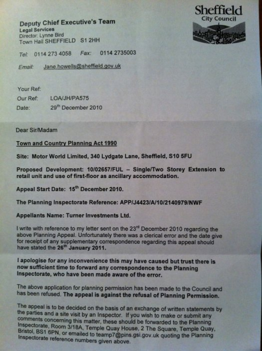 Revised appeal letter 1