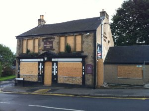 The Hallamshire Hotel on Lydgate Lane: facing demolition to make way for a housing development