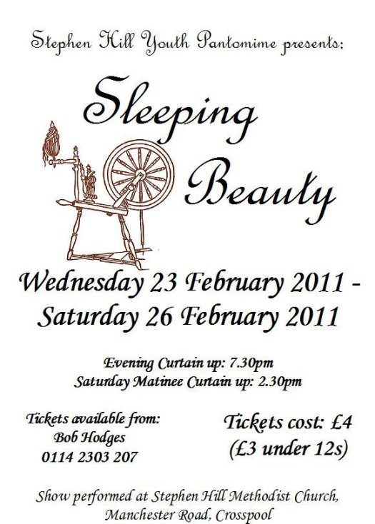 Stephen Hill Youth pantomime Sleeping Beauty