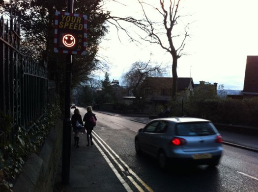 Manchester Road speed signs return