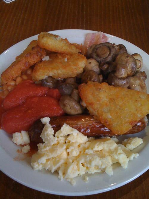 Crosspool Tavern breakfast