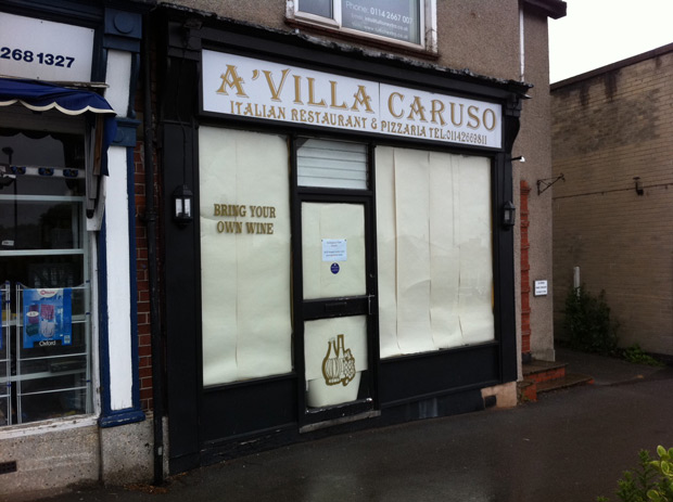 A'Villa Caruso restaurant: to reopen under new management?
