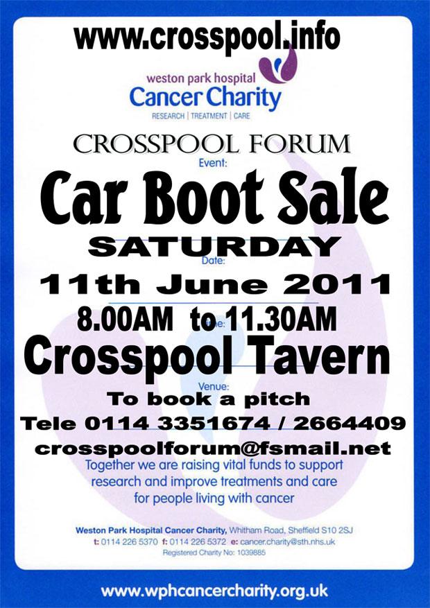 Crosspool Tavern car boot sale, 11 June 2011