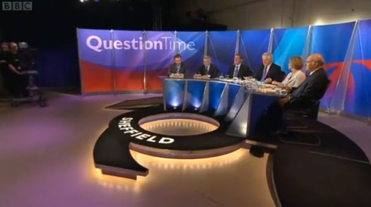 BBC Question Time from Tapton School