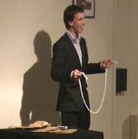 Crosspool magician Dan Ellis