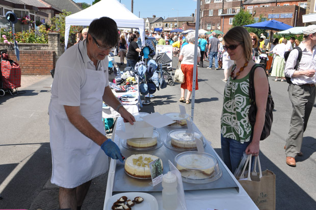 Crosspool Festival street market