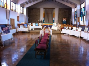 Crosspool Festival Art Show at St Columba's church