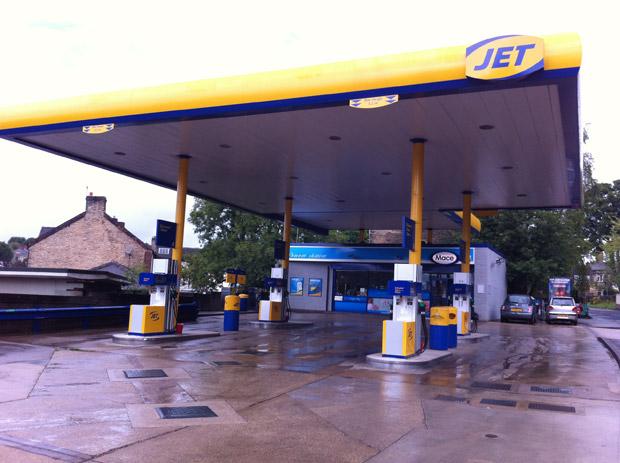 Crosspool petrol station