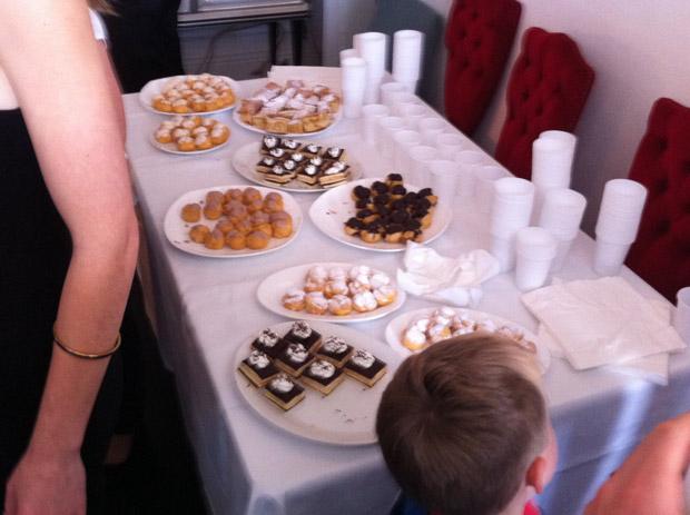 La Dolce Vita restaurant - pastries