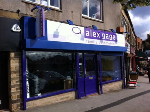 Alex Gage Optometrist: now open in Crosspool