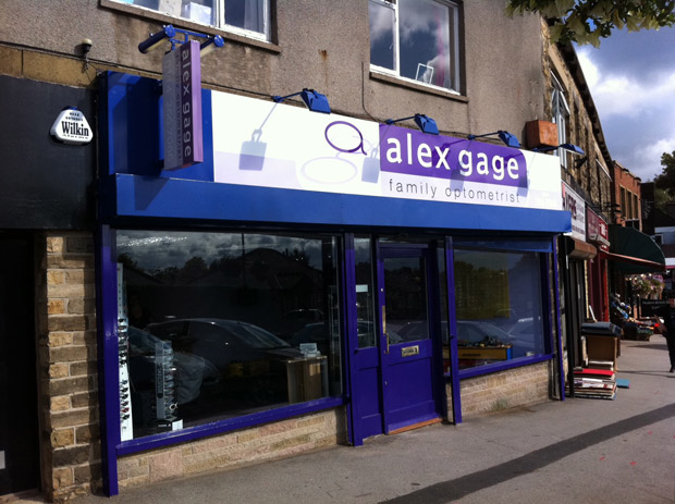 Alex Gage Optometrist: now open in Crosspool