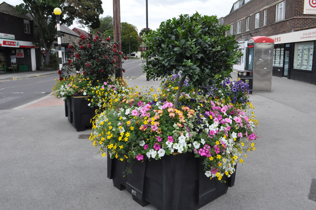 Crosspool won silver in the Sheffield in Bloom awards