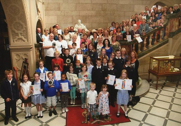 Sheffield in Bloom awards at the Town Hall