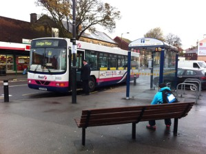 First will run a reduced 51 bus service over the holiday period