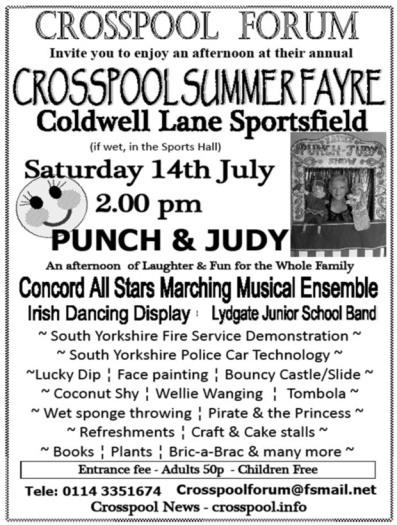 Summer Fayre - Crosspool Festival 2012