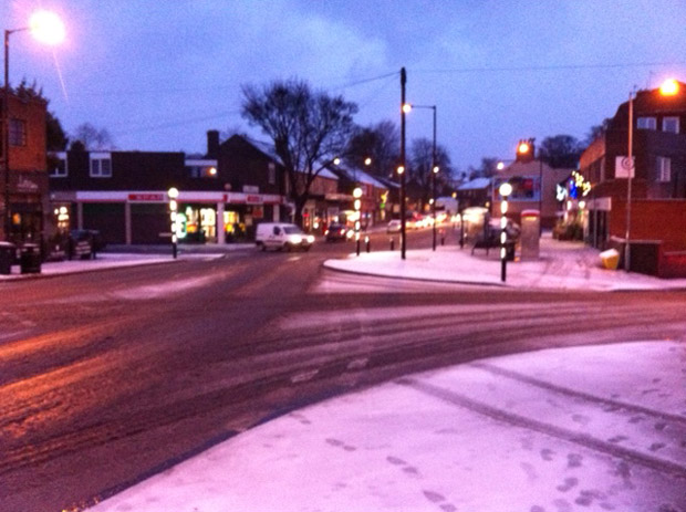 Crosspool precinct this morning