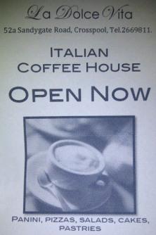Cafe at La Dolce Vita