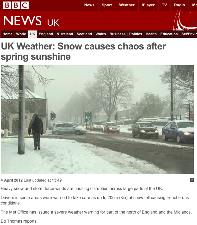Crosspool featured on BBC News report