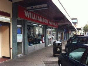 Williamson Hardware in Broomhill