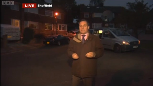 Look North broadcasts live from Hallgate Road