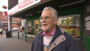 Crosspool residents interviewed outside Spar
