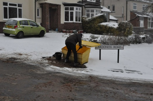 Gritting Cardoness Road